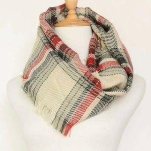 Accessories - ❗️LAST ONE❗️Plaid Blanket Scarf
